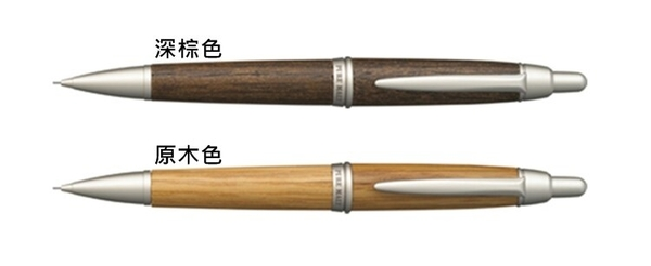 又敗家@日本UN百年橡木桶0.5mm自動鉛筆M5-1015樽桶PURE MALT原木頭筆0.5mm鉛筆威士忌酒釀自動筆