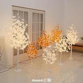 ins網紅主播直播發光燈房間佈置彩燈背景裝飾宿舍臥室擺設LED樹燈 現貨快出
