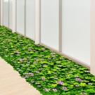 3D立體地貼 3D立體植物地貼紙地板自粘客廳玄關墻角房間布置裝飾地面貼畫TW【快速出貨八折鉅惠】