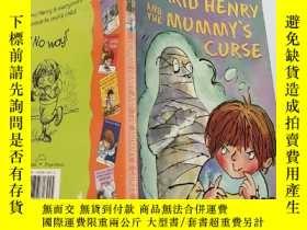 二手書博民逛書店Horrid罕見Henry and the Mummy s Curse:可怕的亨利和木乃伊的詛咒Y200392