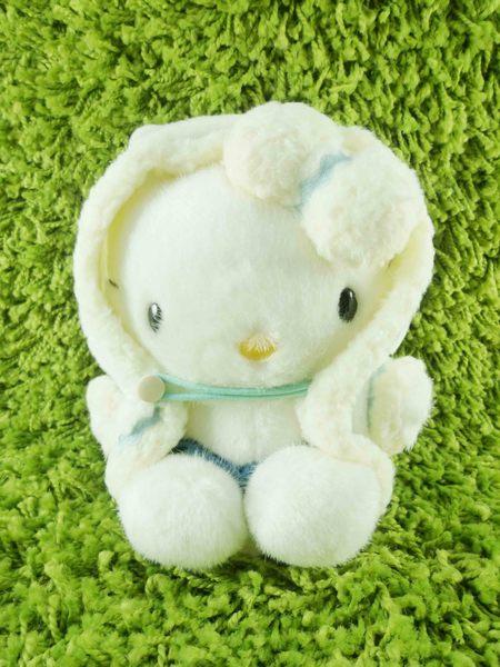 【震撼精品百貨】Hello Kitty 凱蒂貓~KITTY絨毛娃娃-加拿大服飾-白色
