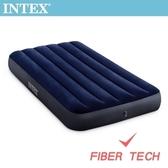 INTEX 經典單人加大充氣床-寬99cm(64757)