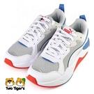PUMA X-Ray Jr 鞋帶款 運動鞋 大童 藍白 NO.R6962(37292015)