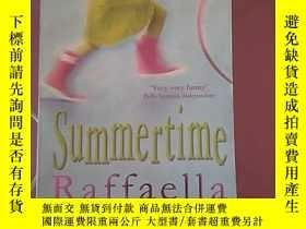 二手書博民逛書店英文原版Summertime罕見by Raffaella Bar