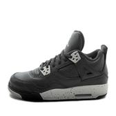 Nike Air Jordan 4 Retro BG [408452-003] 大童鞋 喬丹 經典 潮流 休閒 黑 灰