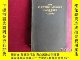 二手書博民逛書店THE罕見ELECTRIC VEHICLE HAND-BOOKY