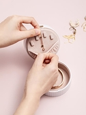 首飾收納盒耳環耳釘項鍊便攜飾品盒子隨身迷你精致防塵耳飾防氧化 韓國時尚週