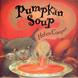 【麥克書店】 PUMPKIN SOUP/英文繪本附CD《主題:友誼.分享》(中譯:南瓜湯)