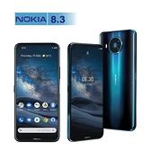 【拆封新品】NOKIA 8.3 8G/128G 6.81吋 聯強保固