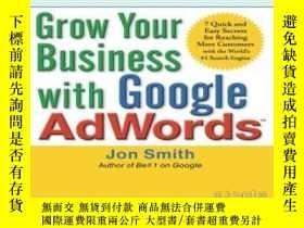 二手書博民逛書店Grow罕見Your Business With Google
