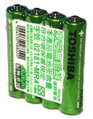 東芝無鉛綠碳鋅電池4號4入