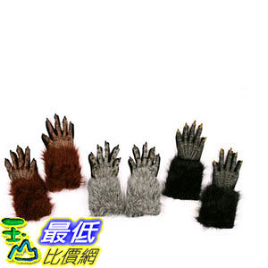 [103美國直購] 成人手套 Werewolf Hands Adult Gloves $725