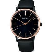 情人推薦 SEIKO精工 SRIPIT 城市型男手錶-黑/38mm 7N01-0JR0D(SCXP078J)