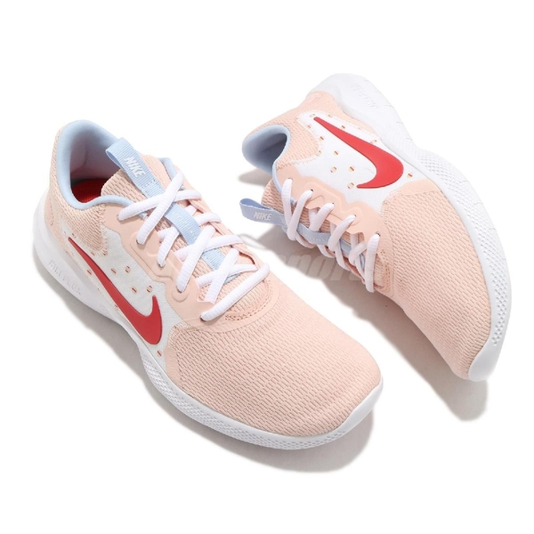 Nike 慢跑鞋 Wmns Flex Experience RN 9 粉紅 白 女鞋 運動鞋 【ACS】 CW5631-400