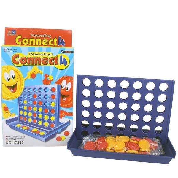 中連環棋 17812 四子棋 四連棋/一個入{促50}思維策略遊戲兒童益智玩具~CF86371