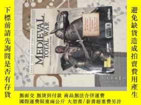 二手書博民逛書店中世紀罕見全面戰爭》(Medieval Total War) 遊