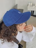 原宿風平簷日本棒球帽子女個性嘻哈軟帽檐復古鴨舌帽男潮