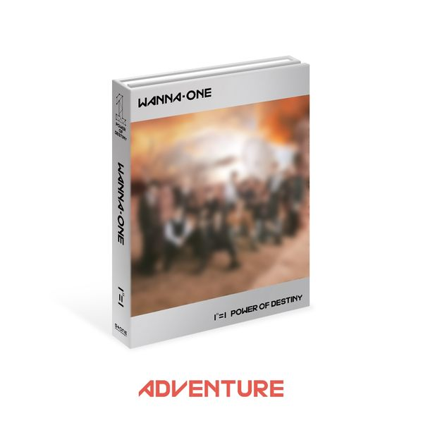 WANNA ONE 1¹¹=1 (POWER OF DESTINY) 台灣獨占贈品盤 Adventure版 CD 贈Wanna One手提式杯套 免運 (購潮8)