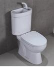 【麗室衛浴】小空間專用含洗手龍頭馬桶80...