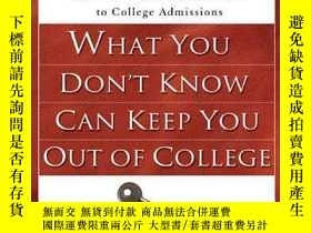 二手書博民逛書店What罕見You Don t Know Can Keep Yo