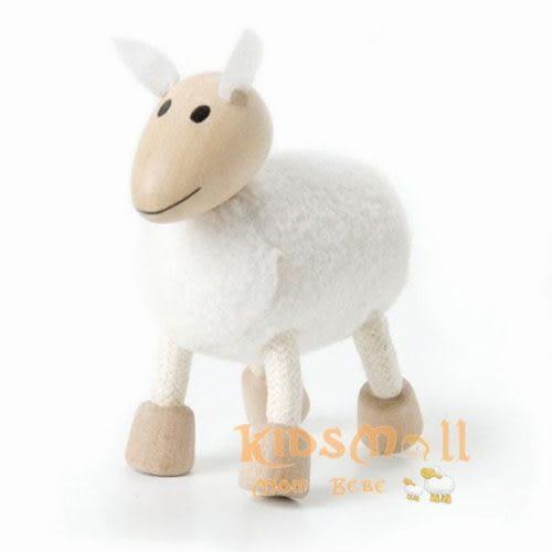 澳洲Anamalz,有機楓木動物造型玩偶-農場動物-小豬Pig