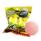 兩款一組【日本正版】笑笑羊 造型公仔 P2 沐浴球 蘋果香氛 泡澡劑 入浴球 泡澡球 款式隨機 - 047646