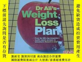 二手書博民逛書店Dr罕見Ali s Weight Loss Plan(英文原版)