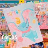 正版 迪士尼系列 櫻花祭 DUMBO 小飛象 單層L夾 文件夾 收納夾 COCOS QQ049