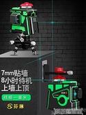 12線水平儀綠光貼墻儀高精度自動打線藍光十二線紅外線水平儀 DF 交換禮物