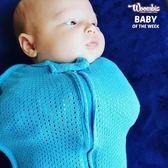 包巾/雙向拉鍊嬰兒包巾/夏日透氣/100%有機棉全網眼包巾-美國Woombie
