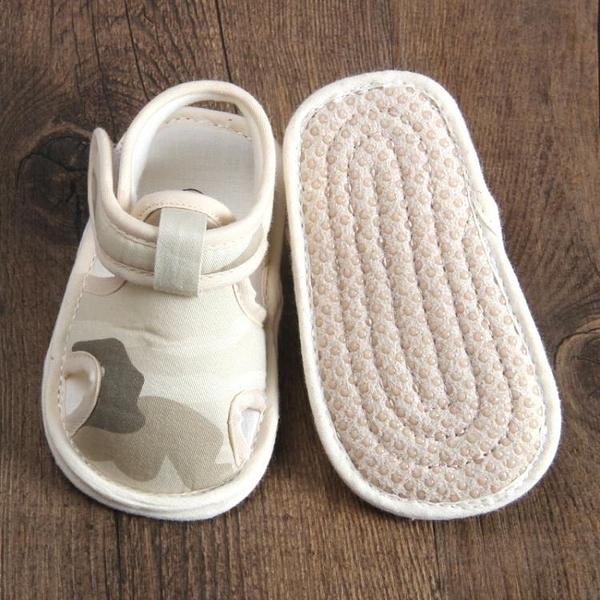 嬰兒涼鞋0-1歲寶寶學步鞋軟底夏季女布6-12個月嬰幼兒鞋子男透氣 童趣潮品