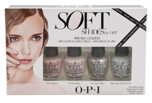 OPI Soft Shades系列迷你組