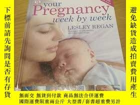 二手書博民逛書店Your罕見Pregnancy Week by Week cY1