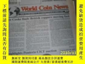 二手書博民逛書店World罕見Coin News(Vol.20,No.4)(Fe