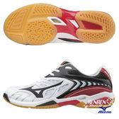 美津濃 MIZUNO 男羽球鞋 WAVE FANG SS2 SLIM (白黑紅) 羽毛球 窄楦鞋款 71GA171209【 胖媛的店 】