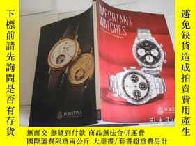 二手書博民逛書店FORTUNA罕見IMPORTANT WATCHES June