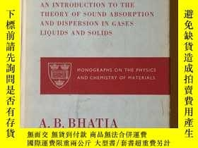 二手書博民逛書店ULTRASONIC罕見ABSORPTION:超聲波吸收Y361052 A B BHATIA 不祥