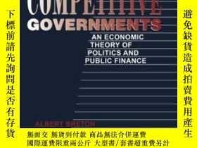 二手書博民逛書店Competitive罕見GovernmentsY255562 Albert Breton Cambridge