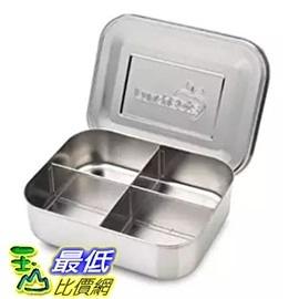 [美國直購] LunchBots Quad Stainless Steel Food Container 高品質(18/8)不鏽鋼午餐盒 兒童款