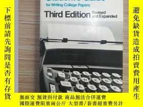 二手書博民逛書店Student s罕見Guide for Writing Col