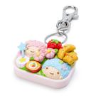 【震撼精品百貨】Little Twin Stars KiKi&LaLa_雙子星小天使~三麗鷗雙子星造型鑰匙圈/吊飾-便當#63507