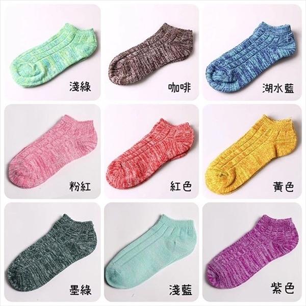 薄款糖果色雪花編織襪S0203  短襪中筒襪 復古 阿華有事嗎