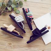 波西米亞涼鞋女學生夏季2018新款復古百搭韓版平底平跟簡約 挪威森林