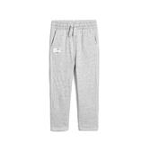 Gap男幼童 舒適鬆緊腰雙層卷邊長褲496072-石楠灰色