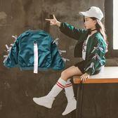 女童外套春秋新款韓版洋氣公主兒童棒球服女大童秋裝開衫夾克 9號潮人館