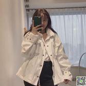 秋季新款韓國chic復古百搭工裝寬鬆休閒口袋收腰風衣外套女 CY潮流站