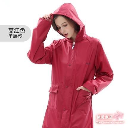 雨衣長款 單人雨衣長款全身外套風衣雨披 成人徒步戶外時尚防水雨衣長款【快速出貨】