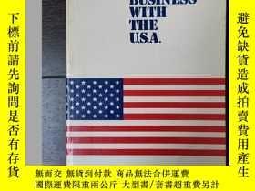 二手書博民逛書店英文原版Doing罕見Business With The USA與美國做生意Y249948 英文 英文