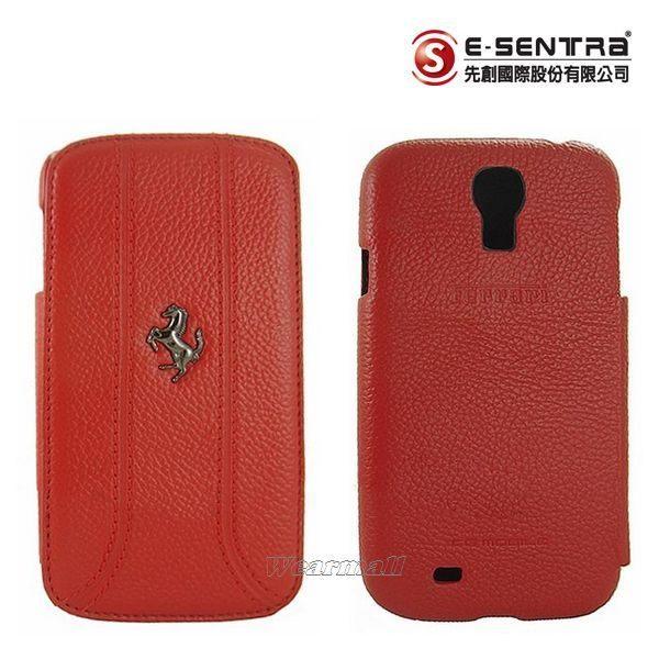 【Ferrari 法拉利】原廠真皮皮套 SAMSUNG【Galaxy S4 i9500】側翻式皮套、翻書式皮套【先創國際公司貨】