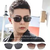 男士金屬方框墨鏡 駕駛太陽眼鏡 男士墨鏡 時尚墨鏡 抗紫外線UV400